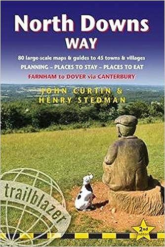 North Downs Way Guidebook (Trailblazer)