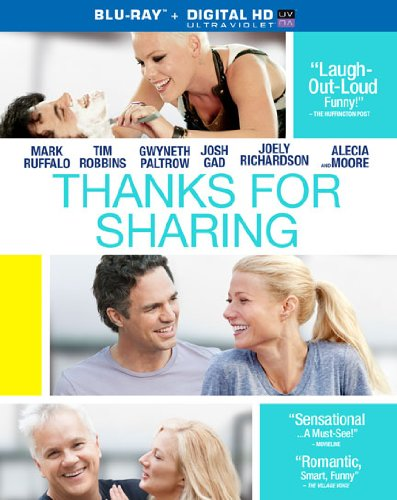 Blu-ray : Thanks for Sharing (Ultraviolet Digital Copy, Digital Theater System, Widescreen, , AC-3)