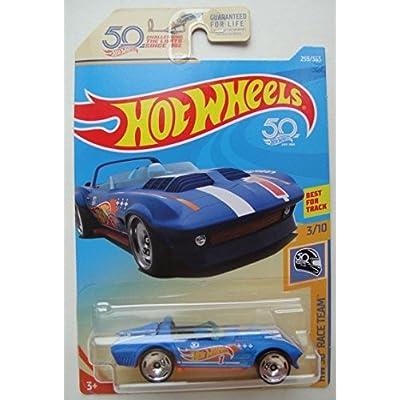 Hot Wheels HW 50 RACE TEAM 3/10, BLUE CORVETTE GRAND SPORT ROADSTER 259/365: Toys & Games