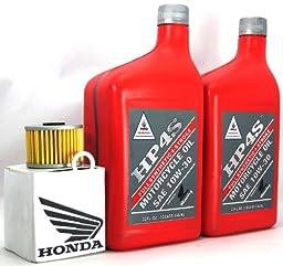 2008 HONDA HP4S TRX700XX OIL CHANGE KIT