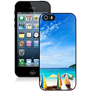 Personalized Phone Case Design with Morning Sea iPhone 5s Wallpaper