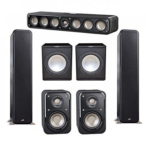 Best savings for Polk Audio Signature 5.2 System with 2 S55 Tower Speaker, 1 Polk S35 Center Speaker, 2 Polk S10 Surround Speaker, 2 Premier Acoustic PA-150 Powered Subwoofer
