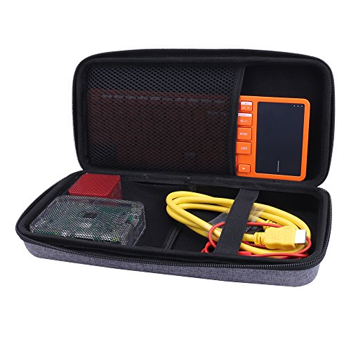 Storage Carrying Case for Kano Computer Kit Coding Toy fits Motion Sensor/Pixel Kit by Aenllosi (Gray)