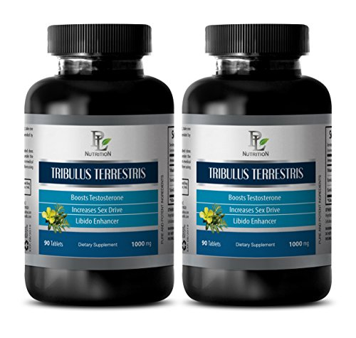Sex booster for women - Pure Tribulus Terrestris Extract 1000mg 45% Saponins - Sex Pill For Male - 2 Bottles 180 Tablets