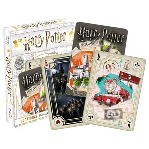 Aquarius Harry Potter Locations Multi Image Playing Cards