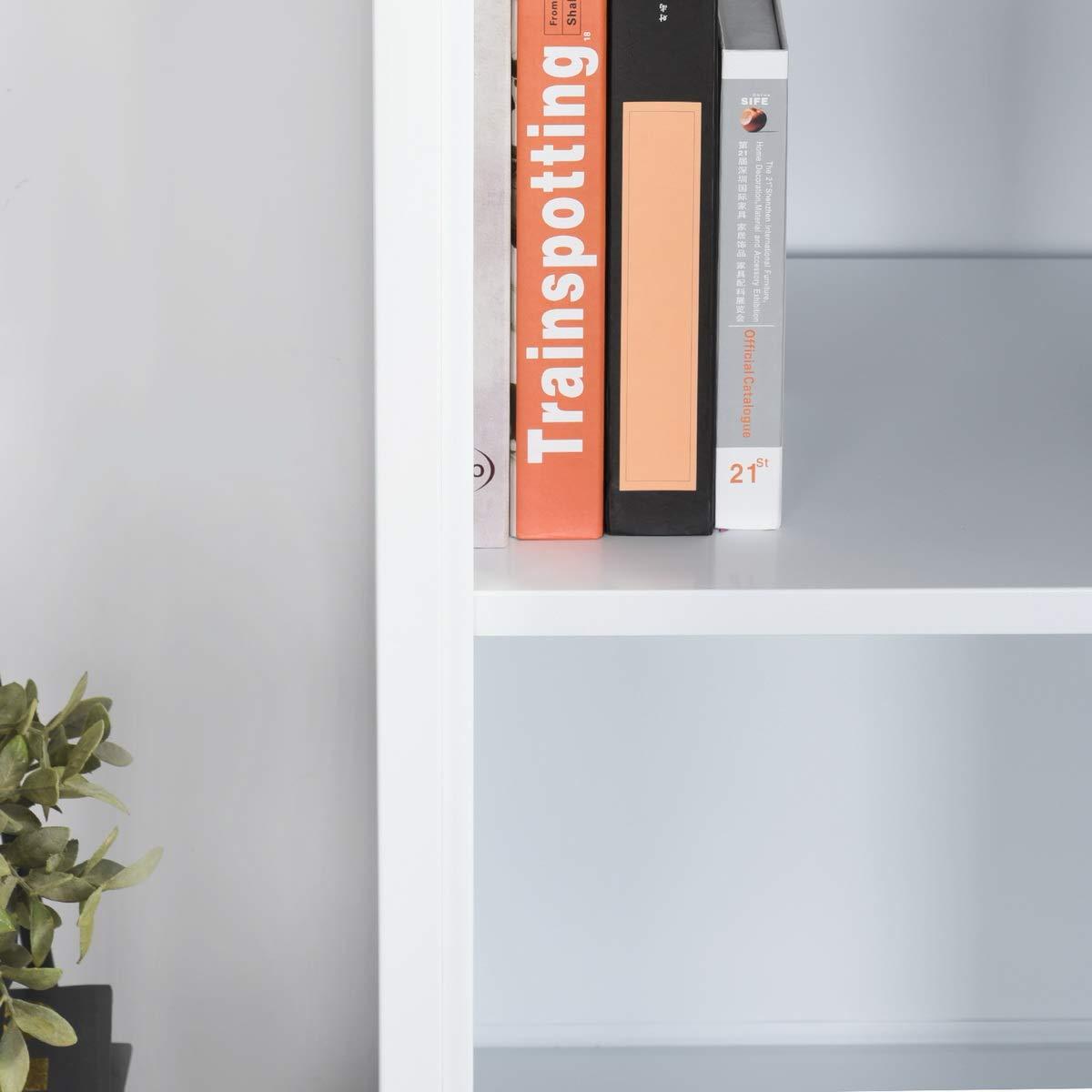 scaffale con Serratura Bianco armadietto Alto in Metallo con Porta a Colonna con 3 cassetti Armadietto con Sistema di Chiusura in Metallo Yata Home