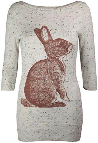 Rabbit Jumper Damen Pullover Comfiestyle Cream wf8RIqq--inaccurate ... b2fd694dde