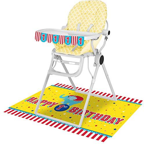 Circus Animals High Chair Kit, 1 ct