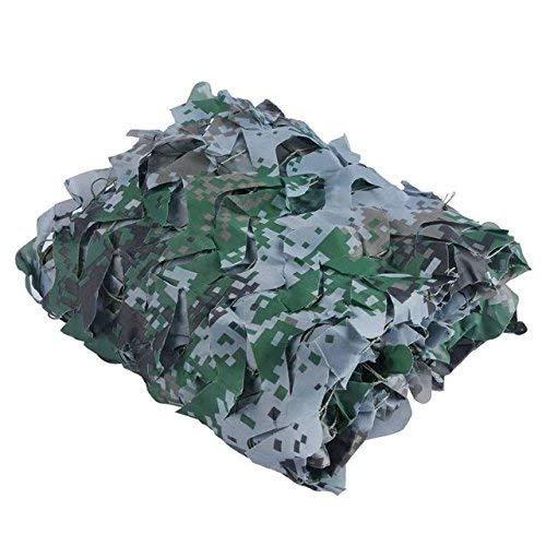 10M×30M  Zhanghongshop Filet de Camouflage imperméable d'armée, Filet de Chasse au Tissu Oxford, Camping en Plein air dans Les Bois (Couleur   4M×6M)