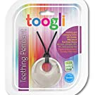 Baby Teething Necklace For Mom by Toogli - Fashionable Nursing Necklace For Mom to Wear - FREE Bonus Teething Guide - BPA, Lead and Phthalate Free - the Toogli Chew Necklace comes with a Lifetime No-Hassle Satisfaction Guarantee - (Pearl White)
