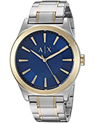 Armani Exchange Mens Dress Silver  Watch AX2332