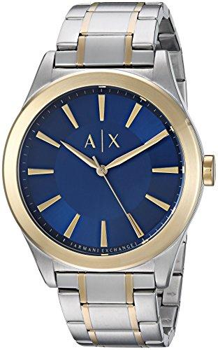 Armani Exchange Men's Dress Silver Watch - Silver Armani