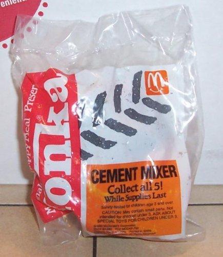 (1992 Mcdonalds Tonka Trucks Cement Mixer Happy Meal Toy)