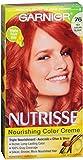 Garnier Nutrisse Haircolor - 76 Hot Tamale (Rich Auburn Blonde) 1 Each (Pack of 4)