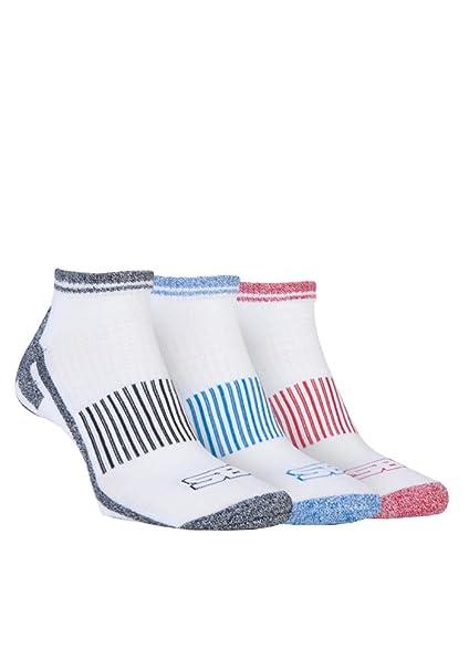 Storm Bloc - 3 pares hombre algodon cortos running deporte / trekking calcetines para andar: Amazon.es: Ropa y accesorios
