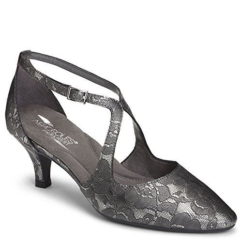 ward Dress Pump, Silver, 7 M US ()