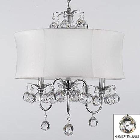 modern contemporary pendant lighting. Modern Contemporary White Drum Shade \u0026 Crystal Ceiling Chandelier Pendant  Lighting Fixture W 18\u0026quot; Modern Contemporary Pendant Lighting I