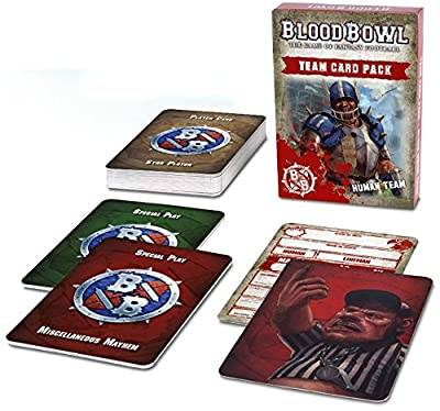 Blood Bowl Human Team Card Pack from Games Workshop