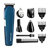 Beard Trimmer,ISIX Hair Clipper, 5 in 1 Lithium Powered Grooming Kit, Multigroom All-In-One Series of Mustache Trimmer, Eyebrow Razor, Nose Hair Trimmer and Precision Trimmer, Rechargeable and Cordle For Sale
