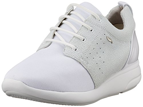 Ophira D Mujer a Off Off Geox Whitec1244 para Zapatillas Blanco White qfw5nd7