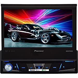 PIOAVHX7800BT - PIONEER AVH-X7800BT 7 Single-DIN In-Dash DVD Receiver with Flip-out Display, Bluetooth(R), Siri(R) Eyes Free, Spotify(R) AppRadio One(TM)