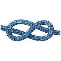 Q&Z Cuerda De Seguridad 8/10.5/12mm Cuerda para Escalada De Roca 30M Cuerda De Alta Resistencia Alta Resistencia para Escalar Al Aire Libre Y En Rappelling Auxiliar con 2 Mosquetones