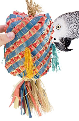 Pinata Toy Parrot Bird - 03403 Large Princess Pinata Bird Toy Cage Toys Cages Forage Chew Shredder.