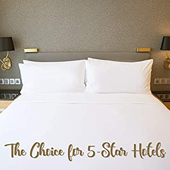 Image of Continental Bedding Sandwich-K.2 Set of 2 Style Double Down Surround Pillows-As Seen in Many 5 Star Hotels and Resorts. (King) Home and Kitchen