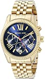 Michael Kors MK6206 Women's Lexington Wrist Watch, Blue Dial