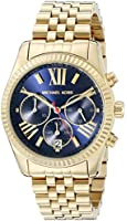 Michael Kors Women's MK6206 Lexington Gold-Tone Stainless Steel Watch