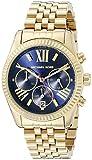 Michael Kors MK6206 Women's Lexington Wrist Watch, Blue Dial