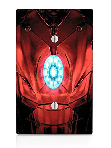 Chest Armor Single Blank Electrical Switch Plate -
