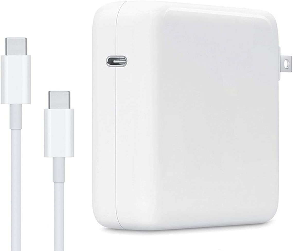 Mac Book Pro Charger,87W USB C Charger for MacBook Pro 15 Inch 13 Inch New MacBook Air 2018 2019 2020 with Charge Cable
