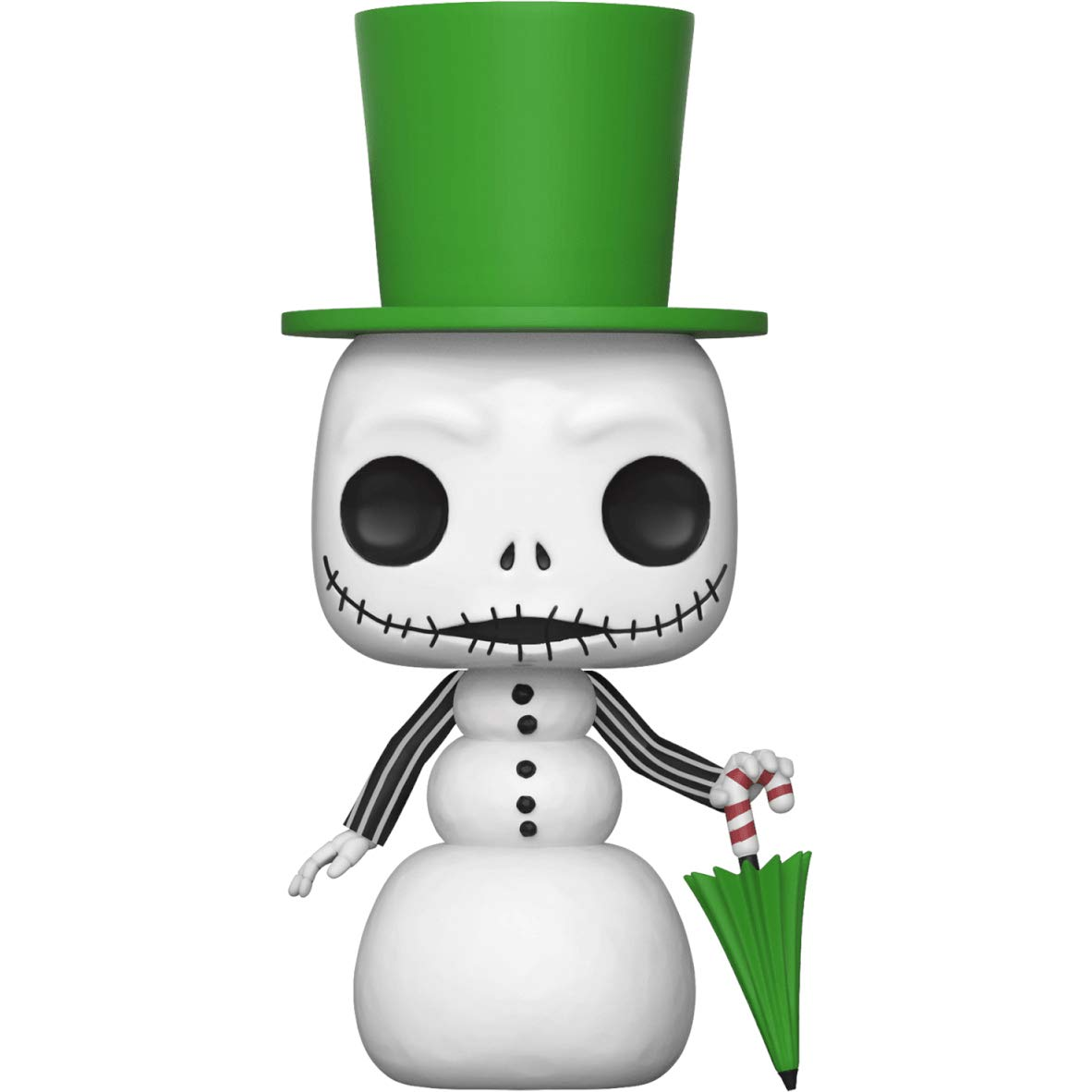 Disney Vinyl Figure /& 1 PET Plastic Graphical Protector Bundle #448 // 32836 - B BCC9408W0 Snowman Jack: The Nightmare Before Christmas x Funko POP