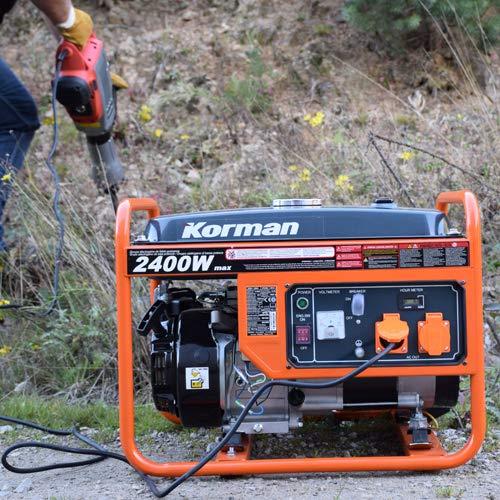 5,5CV Korman Grupo electr/ógeno Gasolina 2400W