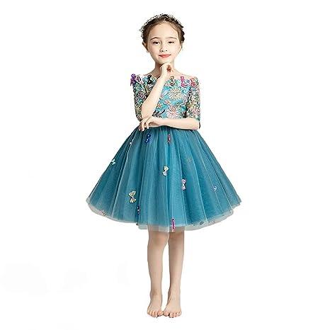 Uioy Disfraz de rendimiento for niños, vestido de noche y ...