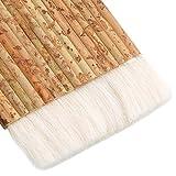HNBun 2 PCS Sheep Hair Hake Brush, Bamboo Handle