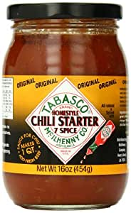 Tabasco Original 7 Spicy Chili Recipe, 16 Ounce