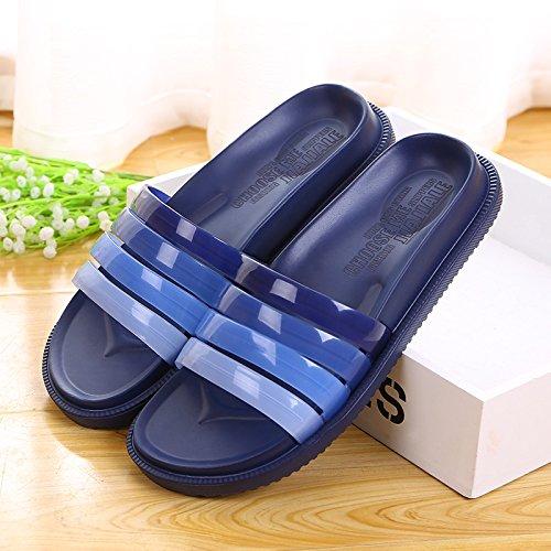 bathroom Home deep slippers 42 blue x18P0Bwq