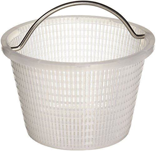 Pool Skimmer Swimming Basket (Pentair 516112 Handle Basket Replacement Bermuda Gunite and Vinyl Liner Skimmer)