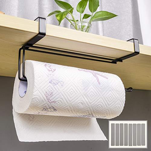 Paper Towel Holder, Numola Large Size Hanging Paper Towel Holder Under Cabinet, Humanized Design Stainless Steel Roll…