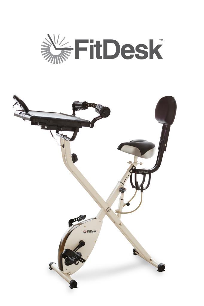 Amazon Com Fitdesk 2 0 Desk Exercise Bike With Massage