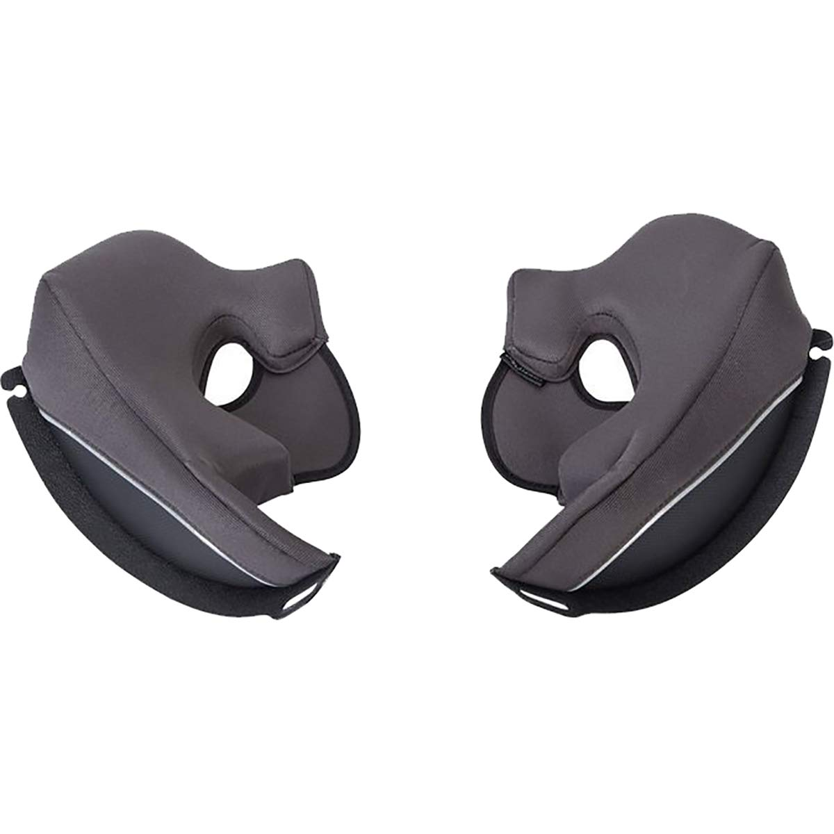 Scorpion Kwikwick EXO-GT920/EXO-AT950 Cheek Pads Street Motorcycle Helmet Accessories - Black / 3X-Large 92-650-08