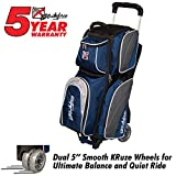 KR Strikeforce Apex Triple Roller Bowling Bag Navy