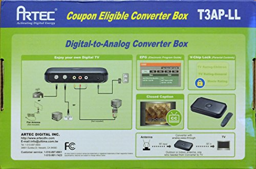 Digital-to-Analog TV Converter Box