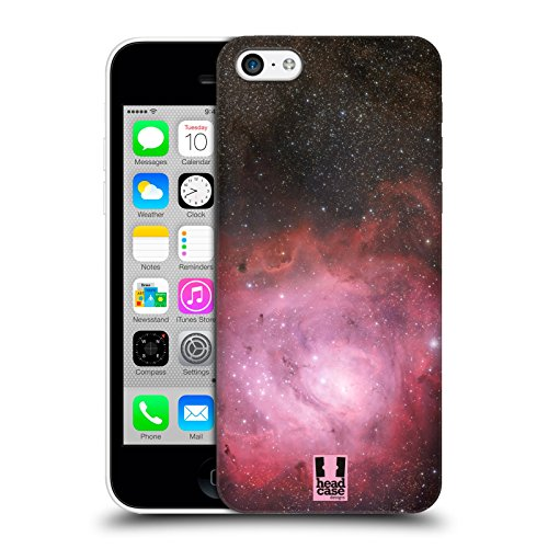 Head Case Designs Nebulosa Stellare Laguna Spazio Aperto Cover Retro Rigida per Apple iPhone 5c
