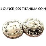 TITANIUM 1oz COIN *ELEMENT COIN* .999 FINE PURE TITANIUM ROUND