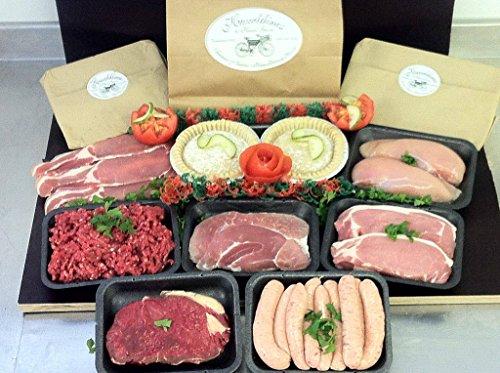 Meat Pack for Week Sausage Bacon Steak Minced Beef Pork Chicken