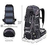 DIY External Frame Hiking Backpack 68L with 19.5