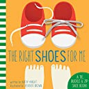 Bendon The Right Shoes for Me A Tie Buckle & Zip Learning Activity Toy Board